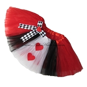 Queen of Hearts Tutu . INFANT to 6X