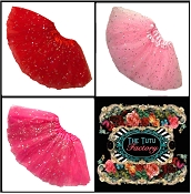 Girls Valentine Sequin Tutus