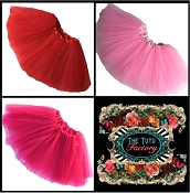 Girls Valentine Tutus