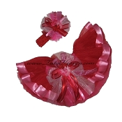 Valentines Day Ribbon Tutu Set