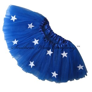 SHORT Royal Blue STARS Tutu
