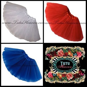 4th of July Tutus  . INFANT to 6X