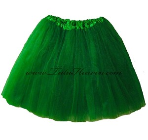 LONG Kelly Green Tutu