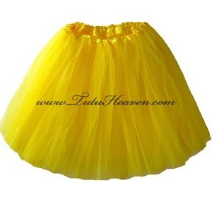 LONG Yellow Tutu