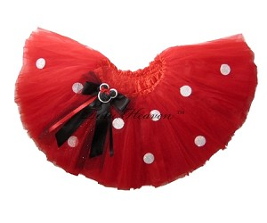 SHORT Red Polka Dot Tutu