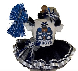 Cheerleader Tutu Set Dallas