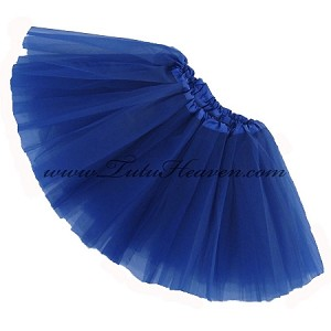 Girls Royal Blue Tutu