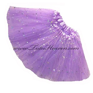 SHORT Lavender Sequin Tutu
