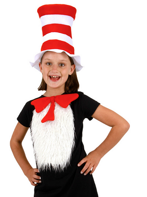 DR SEUSS Cat in the Hat Kids Tux Kit