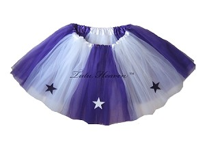 LONG ALLSTAR Tutu White Purple