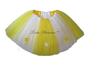 LONG ALLSTAR Tutu White Yellow