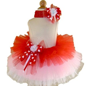 Birthday Tutu Red Valentine