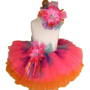Birthday Tutu Tropical Pink