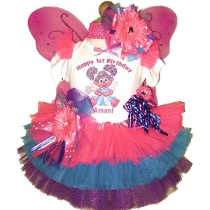 Abby Cadabby Tutu Set Wings Wand Brites