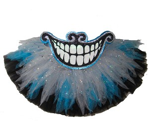 Shredded KITTY Blue Grey Tutu