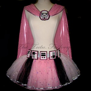 SPACE TROOPER Cape Pink