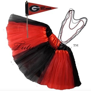 Girls Plus Size Team Spirit Tutu Set GEORGIA