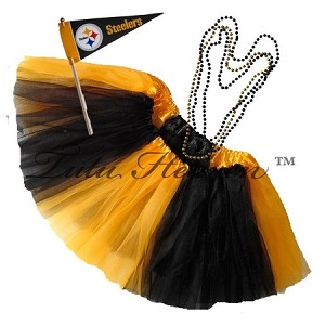 Girls Plus Size Team Spirit Tutu Set PITTSBURG