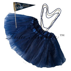 Girls Plus Size Team Spirit Tutu Set St LOUIS