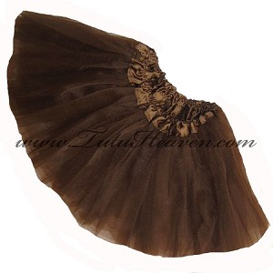 Girls Brown Tutu