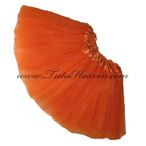 Girls to Plus Size Orange Tutu