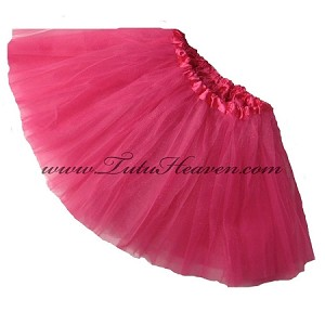 Girls to Plus Size Hot Pink Tutu