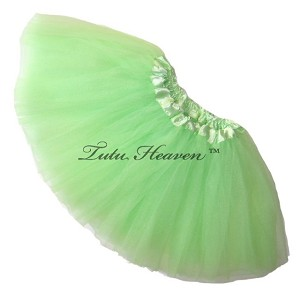 Girls to Plus Size Mint Tutu