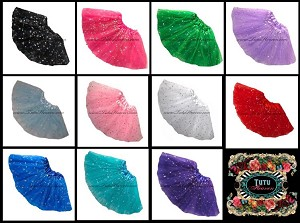 Girls to Plus Size Assorted Sequin Tutus