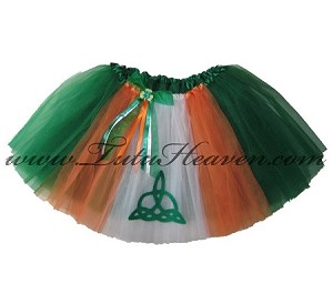 LONG Irish Interlacing Tutu