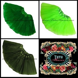 Girls to Plus Size St Patricks Day Tutus