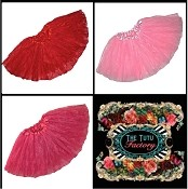 Girls Plus Size Valentine Lace Tutus